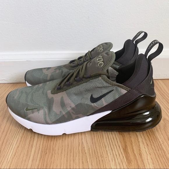 Nike Womens Air Max 27 Se Green Camo